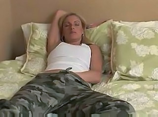 Amateur Blonde Masturbating Mature