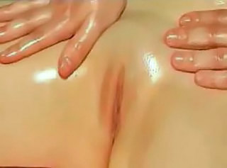 Massage Oiled Pussy Shaved
