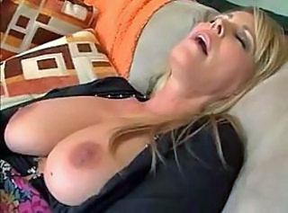 Big Tits Blonde Mature MILF Orgasm Pornstar