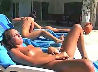 Amateur Brunette Masturbating Outdoor Small Tits Teen