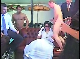 Bride Brunette Cute Gangbang Teen