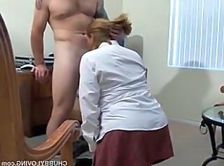 Blonde Blowjob MILF Office Pornstar Secretary