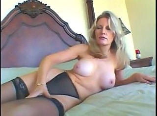 Granny Interracial Mature Stockings