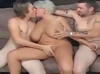 Big Tits Bus Chubby Handjob Kissing MILF Threesome