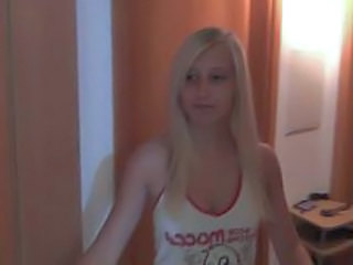 Amateur Blonde Cute German Teen