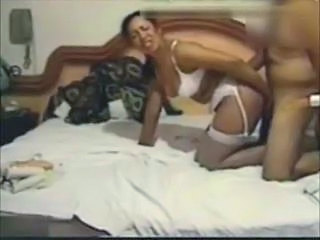 Anal Doggystyle Latina Lingerie Stockings