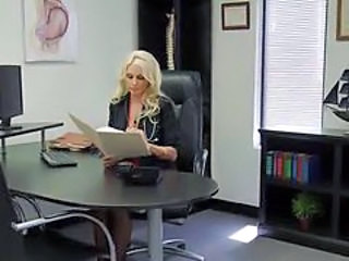 Babe Big Tits Blonde Doctor Pornstar
