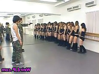 Army Japanese Orgy