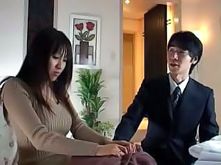 Amazing Asian Brunette Cute Japanese MILF Wife