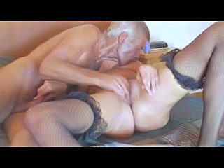 Fishnet Granny Older