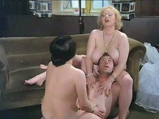 Amazing Big Tits European German Groupsex MILF Threesome