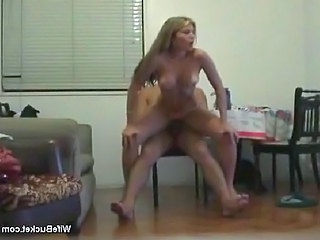 Hot Blonde Wifey Wants Your Cock