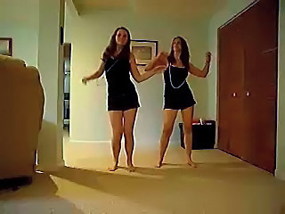 Amateur Brunette Cute Dancing Teen
