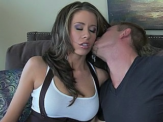 Big Tits Brunette Kissing MILF Pornstar