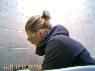 Blonde Teen Toilet Young