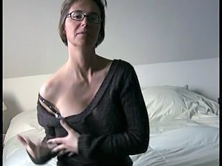 Glasses Mature Stripper
