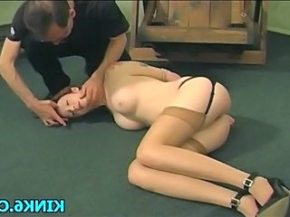 Brunette Cute Natural Stockings Tattoo Teen Young