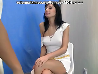 Exotic Brunette In Palpate Sex Action