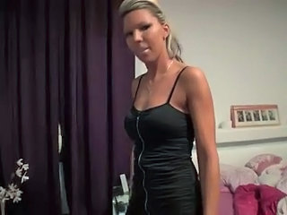 Blonde German MILF Pornstar