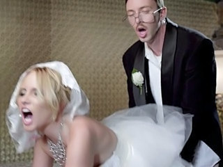 Blonde Bride Doggystyle MILF Pornstar