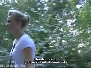 Blonde Cash European Outdoor Teen