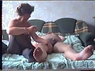 Amateur Homemade Russian Stockings Wife