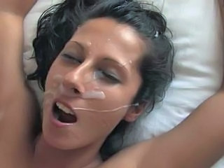 Cumshot Facial Spanish Teen Young