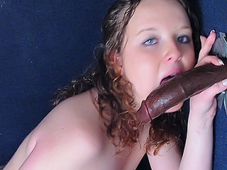 Babe Big cock Blowjob Cute Gloryhole