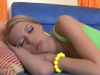 Babysitter Blonde Cute Sleeping Teen