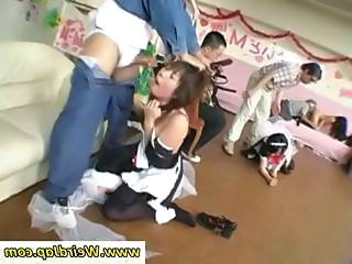 Amateur Asian Blowjob Forced Maid Orgy