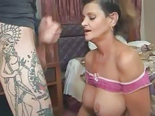 Big Tits Blowjob Brunette Mature Piercing