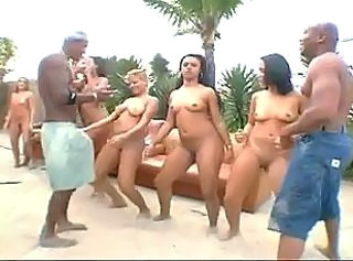 Beach Brazilian Groupsex Hardcore Latina Orgy Outdoor