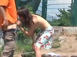 Blowjob European German Outdoor Public Teen