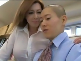 Big Tits Japanese Mature Mom