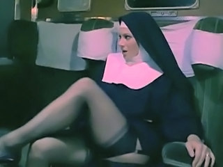 Car Italian MILF Nun Stockings