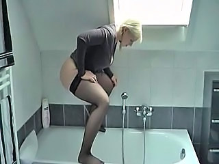 amatør Blond Tisse Teenager