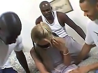Amateur Blonde Gangbang Hardcore Interracial Teen