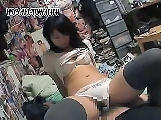 Asian Lingerie Riding Stockings