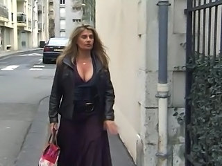 Amateur Big Tits French Mature Outdoor