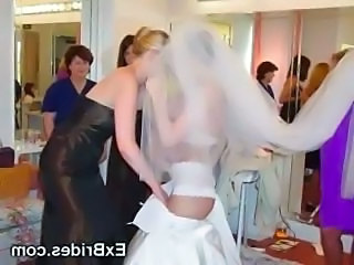 Amateur Bride Lingerie Teen