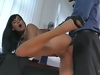 Amazing Brunette Hardcore Office Pornstar Secretary