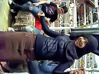 Amateur Arab Dancing Outdoor
