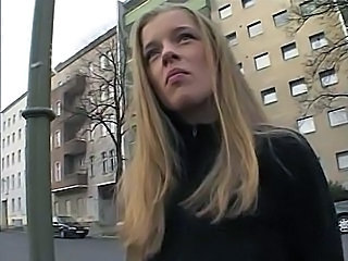 Amateur Blonde Cute European Outdoor Teen