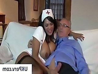 Ebony Handjob MILF Nurse Pornstar Russian Silicone Tits Stockings Uniform