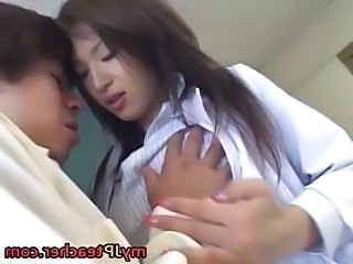 Japanese MILF Pornstar Teacher