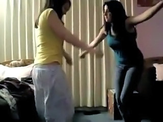 Amateur Dancing Teen Turkish