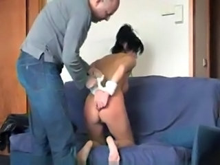 Hard sex for a submissive slave