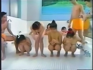 Amateur Asian Groupsex Japanese Orgy Pool