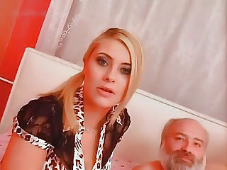 Amazing Daddy Old and Young Pornstar