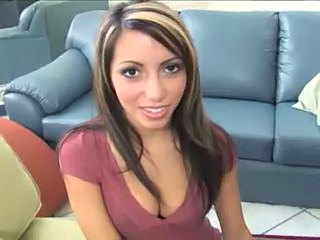 Amazing Latina Natural Office Young